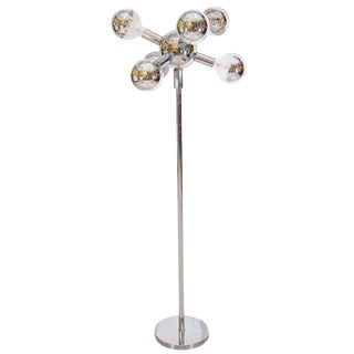 Atomic Italian Chrome Floor Lamp