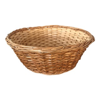 Small Woven Round Basket