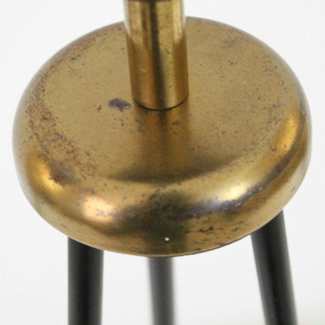 Image of 1950s Modern Tripod Lamp with Fiberglass Shade