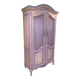Antique Armoire With Matching End Tables