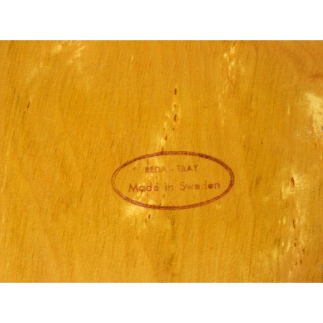 Image of Mid-Century Swedish Wood Platter