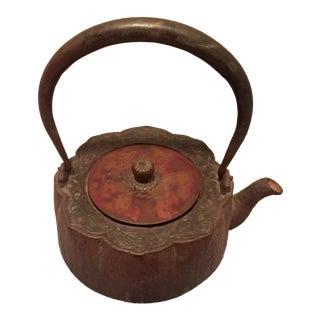 Japanese Squash Blossom Tea Pot
