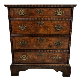 Petite Burlwood Chest of Drawers