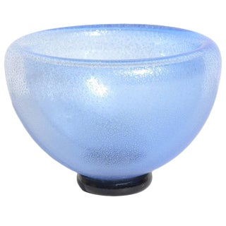 Double-Walled Blue Bowl by Gary Bolt