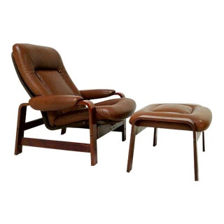Westnofa Mid-Century Danish Lounge Chair