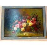 Image of Floral Oil Painting