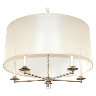 Paul Marra Design Five Arm Shaded Chandelier