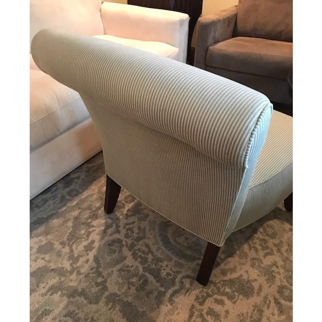 Ethan Allen Slipper Chair - Image 5 of 7