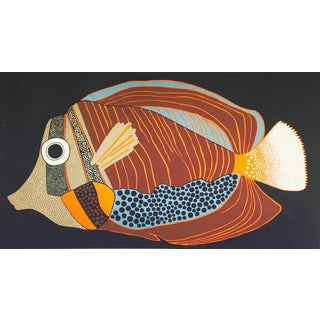Mid-Century Fish Screen Print