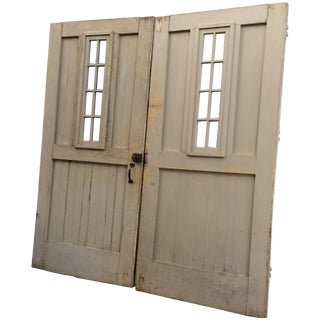 Carriage House Doors - A Pair