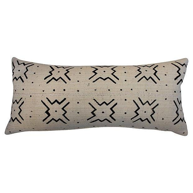 Mali Tribal Mud Cloth Pillows - A Pair - Image 4 of 4