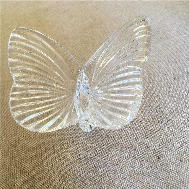 Vintage Crystal Butterfly - Image 8 of 11
