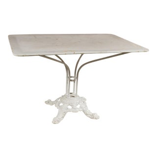French 19th Century Garden Table