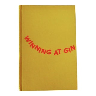 "Chester Wander ""Winning at Gin"" 1965 Book"