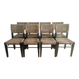 Palecek Panamawood Dining Chair - Set of 8