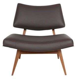 Jari Walnut Slipper Chair