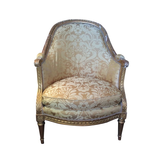 19th Century Antique Giltwood Chairs - Pair - Image 1 of 5