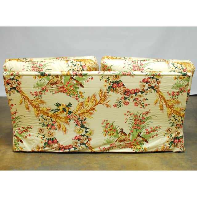 Brunschwig & Fils French Upholstered Toile Sofa - Image 4 of 10