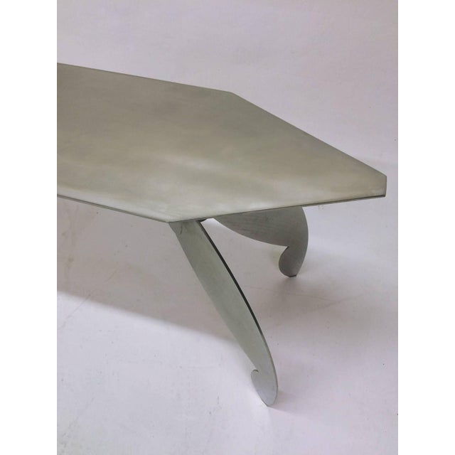 Image of Sculptural Steel Console Table