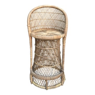 Rattan Wicker Barstool