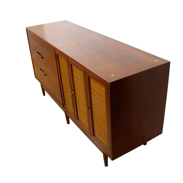American of Martinsville Walnut Dresser Sideboard - Image 2 of 8