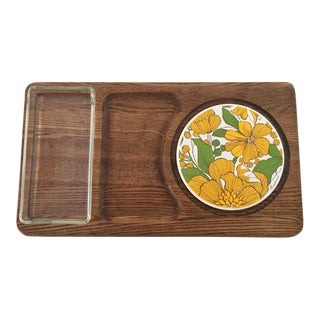 70's Retro Cheese Serving Platter