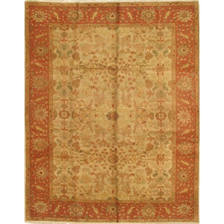 Pasargad N Y Ziegler Sultababad Hand Knotted Rug - 9′4″ × 11′10″
