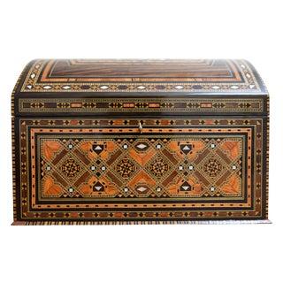 Inlaid Wooden Jewelry Box