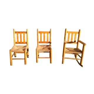 Hand-Crafted Steckmest Chairs - Set of 3