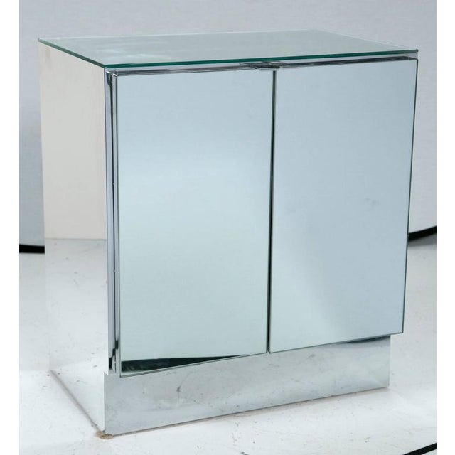 Mid-Century Mirrored Night Stands by Ello Furniture - Image 3 of 6