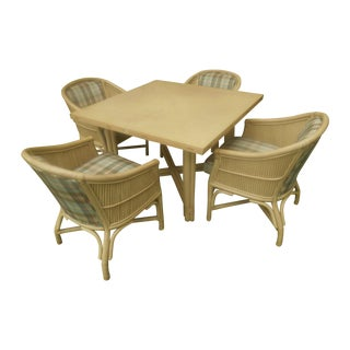 Vintage Ficks Reed Dining Set