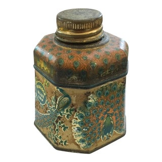 Antique Peacock Fountain Pen Ink Bottle