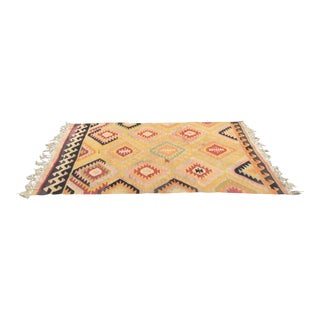 Turkish Kilim Rug - 5′5″ × 7′