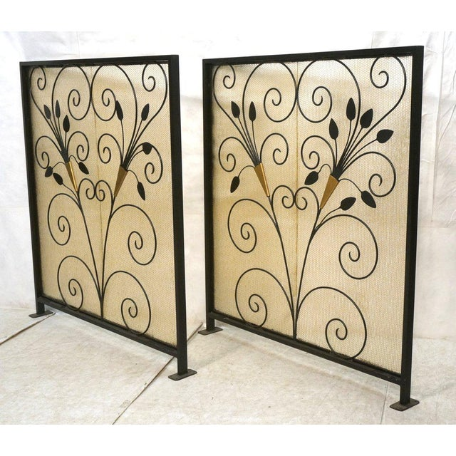 French Art Deco Room Dividers - A Pair - Image 2 of 6