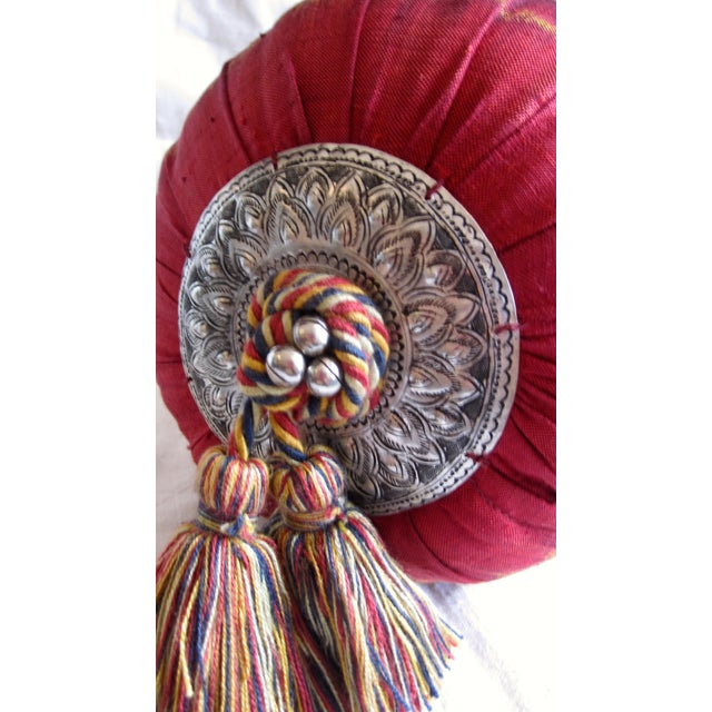 Silk Ikat Bolster - Image 4 of 6