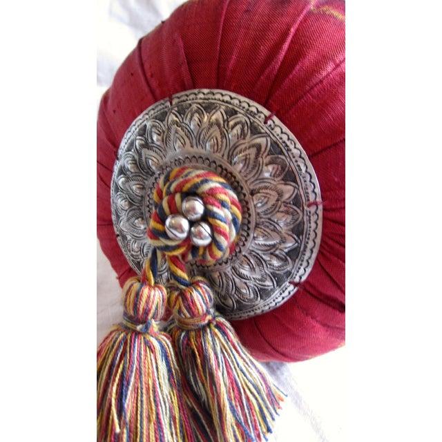 Image of Silk Ikat Bolster