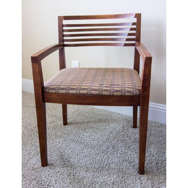 Knoll Vintage Ricchio Walnut Chair - Image 2 of 8
