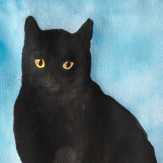 Portrait of a Black Cat, 1975 - Image 3 of 3