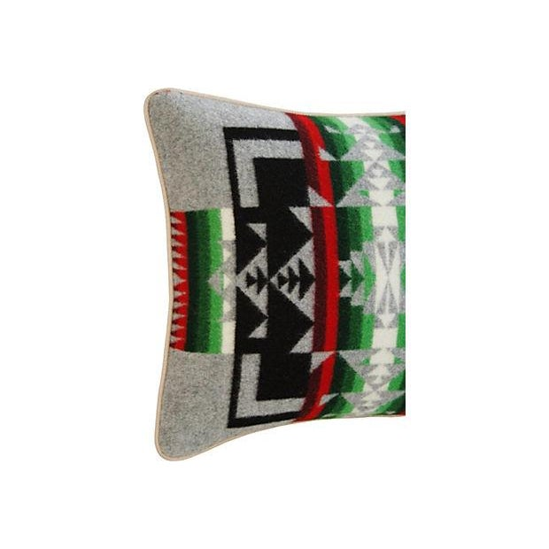 Custom Chief Joseph Pendleton Blanket Pillow - Image 3 of 7