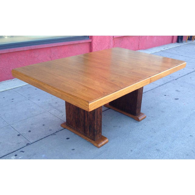 Paul Frankl Dining Table with Original Finish - Image 5 of 7