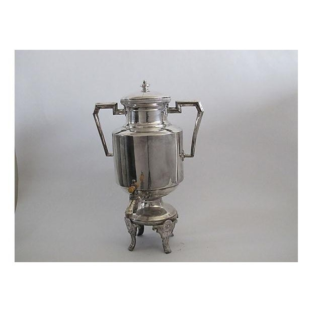 Image of Art Deco Silver Drink Server