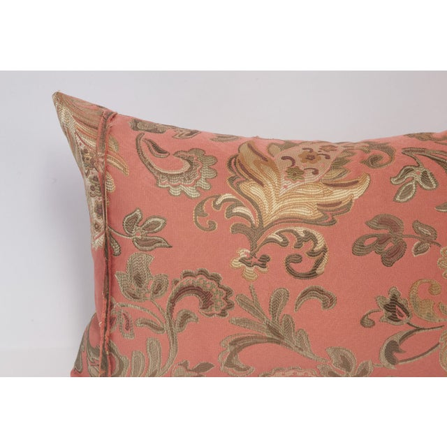 Pink and Gold Deconstructed Pillow - Image 5 of 5