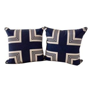 Nautical Ralph Lauren Accent Pillows - A Pair