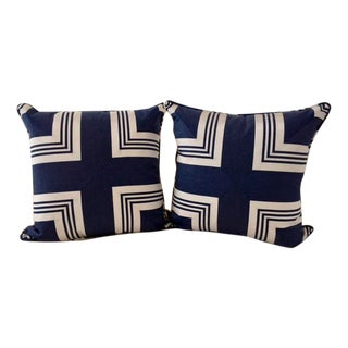 Nautical Ralph Lauren Accent Pillows - A Pair