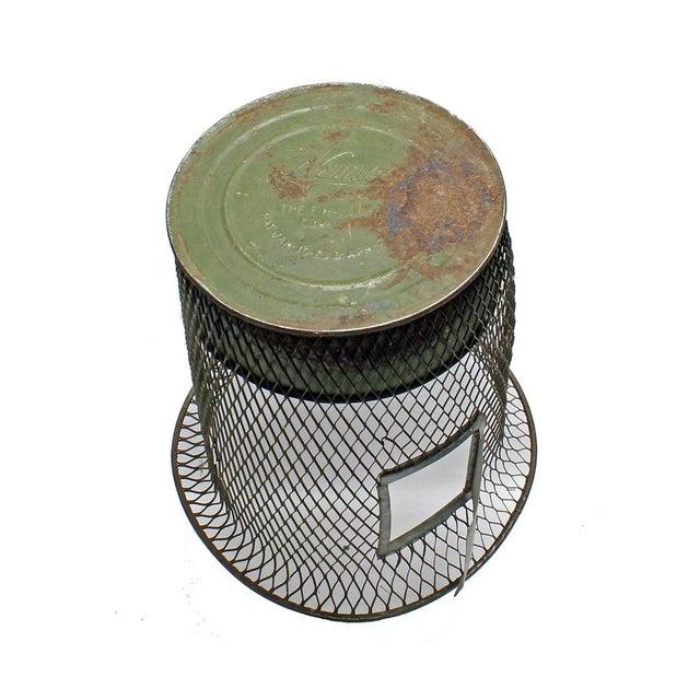 1930s Nemco Wire Wastebasket - Image 3 of 3