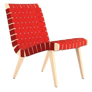 Red Knoll Risom Lounge Chair