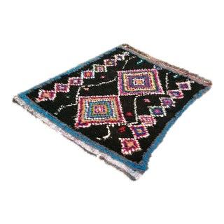 Moroccan Boucherouite Rug - 5′2″ × 6′1″