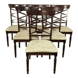 Vintage used dining chairs dining room chairs for Walter e smithe dining room sets
