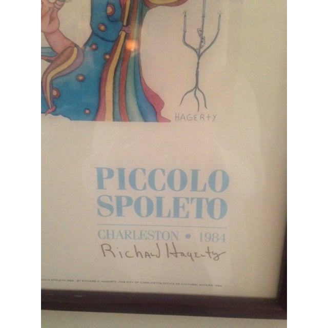 Image of Piccolo Spoleto Poster Signed by Artist!