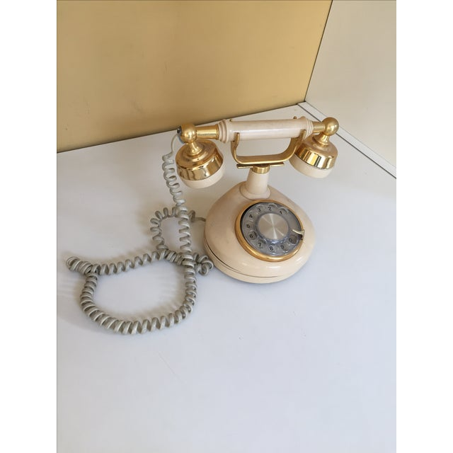 Vintage Hollywood Regency Phone - Image 4 of 4